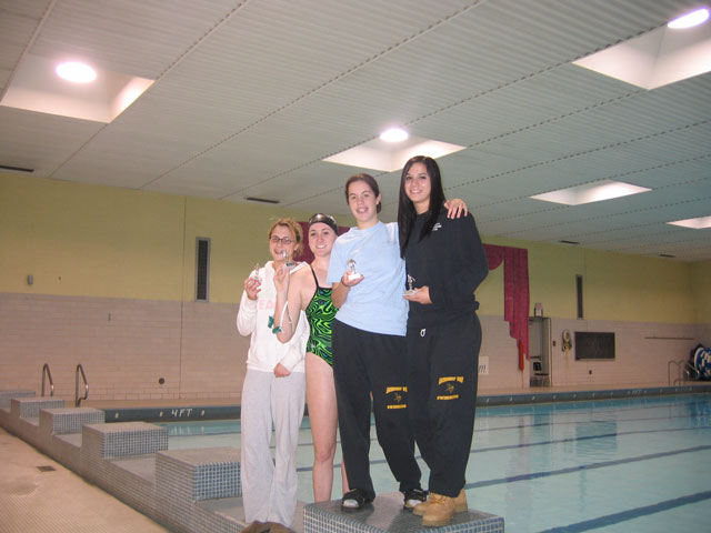 CB East Relays - Girls 200 Fly Relay 3rd Place